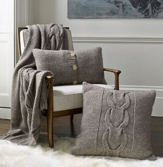 Ugg Unveils Home Collection—And We Like It Warm, stylish home accessories from Ugg Australia The post Ugg Unveils Home Collection—And We Like It appeared first on Dome Decoration. Cowhide Decor, Burlap Curtains, Mirror Painting, Sofa Blanket, Cozy House, Home Collections, Home Decor Accessories, Furniture Makeover, Uggs