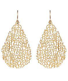 Gold earrings !