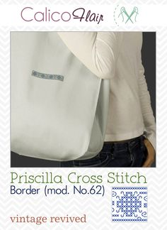Priscilla Cross Stitch Corner 62