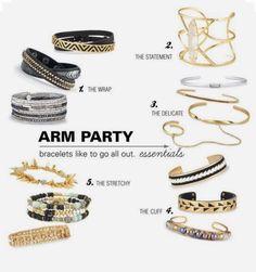 New bracelets to spice up your arm party! www.stelladot.com/lizurban