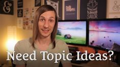 Run Out of Topics? Here's What to Write About http://seanwes.tv/81