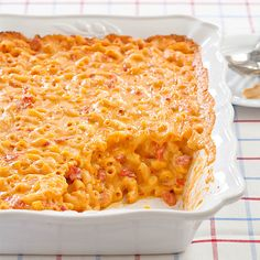 Stumped for dinner? Our creamy, cheesy, and oh-so-satisfying Mac and Cheese with Tomatoes is the perfect dish.