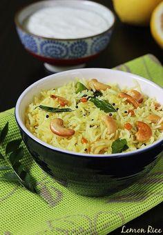 lemon rice recipe swasthis recipes
