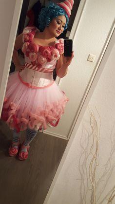 DIY Cotton candy costume / Kostüm Zuckerwatte