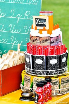 Back To School Vintage Schoolhouse Party- Kara's Party Ideas - Kara's Party Ideas - The Place for All Things Party