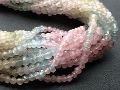WHOLESALE 5 Strands Aquamarine Beads Natural by gemsforjewels