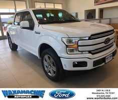 2018 F 150 Lariat Fx 4 With A 6 Inch Lift Has A 3 5 L V6 Eco Boost