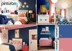 Entryway, Furniture, Home Decor, Shopping, Color Coordination, Navy Blue, Color Combinations, Water, House Decorations