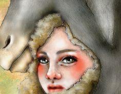 """Check out new work on my @Behance portfolio: """"Donkey Skin""""  #donkeyskin #illustration #artwork #fairytale #donkey  http://be.net/gallery/35739155/Donkey-Skin"""