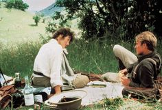 Out of Africa, Meryl Streep, ... | 15. OUT OF AFRICA (1985) From shooting lions on safari to diving in a biplane over a flock of pink flamingos, Sydney Pollack's romance about…