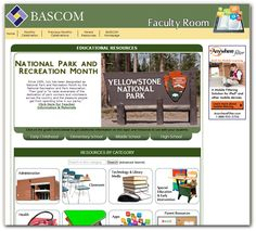 National Parks and Recreation Month - July 2014, BASCOM's Faculty Room offers resources for educators to help teach students about our national parks and other monthly celebrations