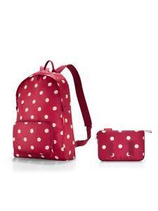 Reisenthel-Mini-Maxi-Rucksack-BackPack-Travel-Bag-14L-Portatif-Sac-a-Dos-School