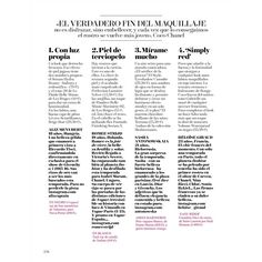 Beauty Editorial by Jan Welters for Vogue Spain May 2015 Eyeshadow... ❤ liked on Polyvore featuring text, magazine, words, articles, phrase, quotes, backgrounds and saying