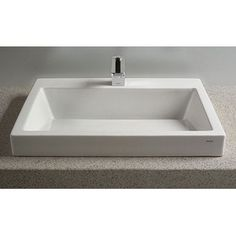 Toto Kiwami Vessel Porcelain  Bathroom Sink in Cotton White. #madeinamerica