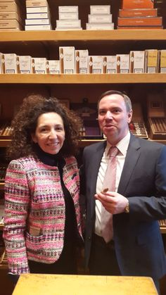 The great cigar Lady Maya Selva and Mirko Pettene February 2016 in Munich
