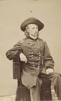 Lot: 2017019: (CUSTER, GEORGE ARMSTRONG) (1839-1876) goldin, Lot Number: 2017019, Starting Bid: $750, Auctioneer: Swann Galleries, Inc., Auction: Sale 2017 - 19th & 20th Century Photographs, Date: October 19th, 2004 EDT American Indian Wars, American Civil War, Native American Indians, Native Americans, American History, George Custer, Battle Of Little Bighorn, George Armstrong, Cowboy Girl