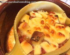 Caccavelle con ragù di salsiccia e formaggio Tartufino del Mugello