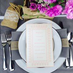 I love the burlap bag in the top left hand corner! Great for favors!