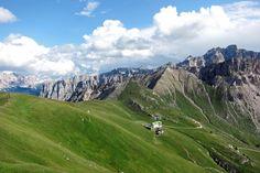 Top Lage, die Schlüterhütte im Villnösstal, Südtirol