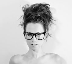 Ingrid Michealson, always looking amazing with her glasses!