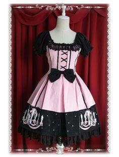 Classic Chandelier Embroidery Lolita Dress http://www.cosplayknot.com/classic-chandelier-embroidery-lolita-dress.html