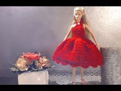 YouTube Crochet Barbie Clothes, Doll Clothes, Crochet Videos, Barbie Dress, Kids And Parenting, Diy Crafts, Dolls, Knitting, Baby