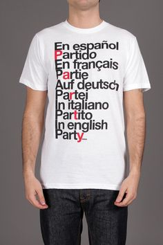 Deter Party Around the World Tee