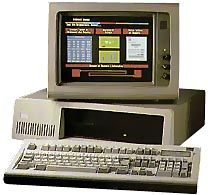 The IBM PC XT 286 is an intermediate computer between the  IBM PC XT  and the  IBM PC AT . It had a very short career because most of its features can be found in the PC AT. My first computer.    Contrary to the PC XT, it has a saved clock and a calendar.      James G. Davis  reports:  Only a few were made-maybe 20,000. Someone with IBM told me that they stopped making them when they had used up all the XT boxes, since the new ATs used a different box.