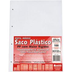 Saco Plástico em PP com 100 Peças - Chies