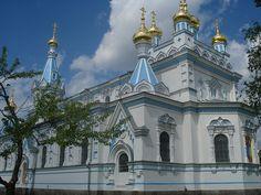 St Boris and Gleb Orthodox Cathedral in Daugavpils3.JPG