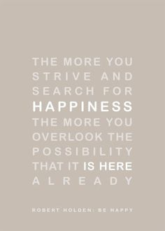 search for happiness