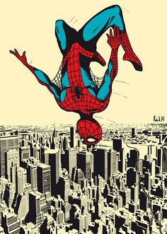 Chris Thornley Spiderman - I keep finding Super Heroes everywhere. Now, you really are a super hero. Proud of you.