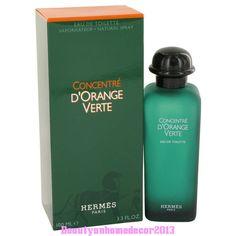 EAU D'ORANGE VERTE by Hermes Eau De Toilette Spray Concentre 3.4 oz for Men #Hermes