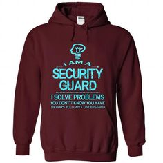 i am a SECURITY GUARD - #homemade gift #unique gift. WANT => https://www.sunfrog.com/LifeStyle/i-am-a-SECURITY-GUARD-1134-Maroon-28824522-Hoodie.html?68278