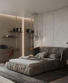 CRISP - VANILLA - GELATO on Behance Gelato, Crisp, Architecture Design, Vanilla, Lounge, Couch, Interior Design, Bedroom, Behance