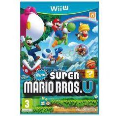 Super Mario non poteva non essere presente al lancio di una console dello spessore di Wii U.  New Super Mario Bros. U è un platform a scorrimento orizzontale che porta con sé tante novità, partendo dal modo in cui si avvantaggia del nuovo Wii U GamePad, fino ad arrivare all'introduzione di un nuovo personaggio: il giocatore stesso, sotto forma di Mii!Questo platform 2D, il primo nella storia di Mario a poter sfoggiare una grafica HD....