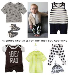 The Alison Show: 15 shops and sites for hip baby boy clothing Sweitzer Oliver Little Boy Fashion, Baby Boy Fashion, Kids Fashion, Outfits Niños, Baby Boy Outfits, Kids Outfits, Baby Swag, Everything Baby, Baby Time
