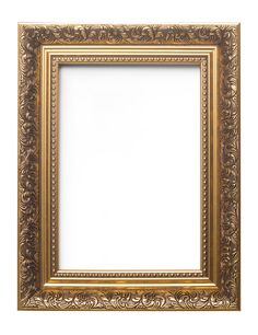 Ornate Swept Antique Style Picture Frame Photo Framer Frame French Baroque Style