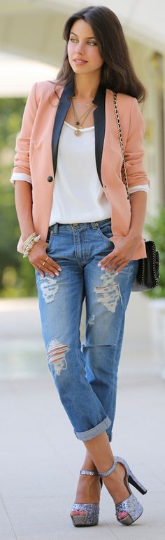 dress up your casual. nice!