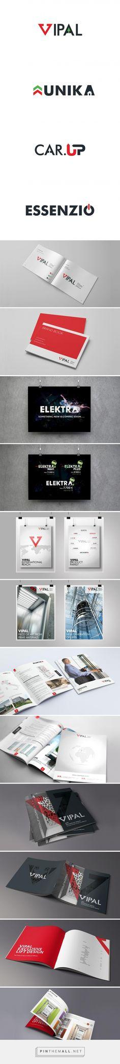 Visual brand identity for Vipal made by PINKPIN (Izabela Matuszewska) - created via https://pinthemall.net