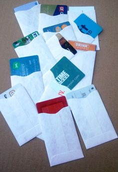 Super thin tyvek card sleeve wallet colourmoves