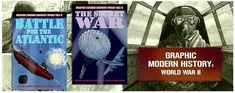 Graphic Modern History: WWII series (Crabtree Publishing)  Six titles in the Graphic Modern History series tell real stories from World War II, from famous battles to undercover spy operations. #history #WWII