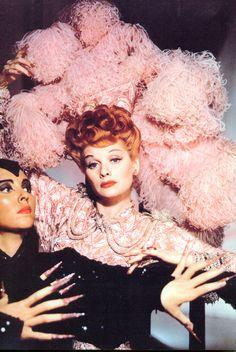 """Lucille Ball in """"Ziegfeld Follies"""" 1945"""