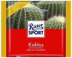 RITTER SPORT Fake Schokolade Kaktus