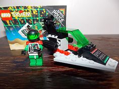 Lego-6813-Space-Police-100-complete-with-instruction