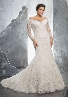 Morilee by Madeline Gardner/Julietta Kameron/3231 Mermaid Wedding Dress