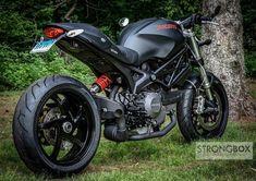 ... , Powdercoating Rear, Giuseppe Tornielli, Custom 696, Ducati Monsters