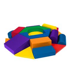 Take a look at this SoftZone Wheel Play Set on zulily today!