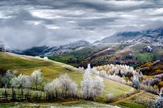 White frost over Pestera village in Romania. © Eduard Gutescu / National Geographic Traveler Photo Contest