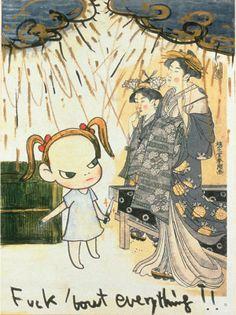 Rare Doodles, Paintings, and Sculptures by Yoshitomo Nara